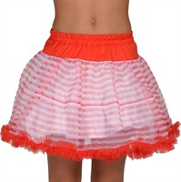 Petticoat Stripes red/white