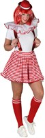 Skirt striped  red/white