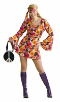 Flower Power Kleid Fever (Kleid/Stirnband)