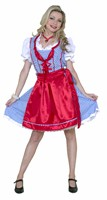 Tyrolean Bianca Oktoberfest (dress,apron)
