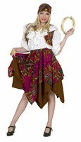 Gypsy woman  Djanella ( skirt, scarf, headscarf )