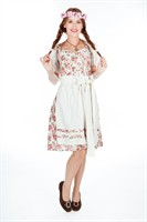 Tyrolean flowers Agnes Oktoberfest (dress,apron)