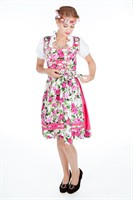 Tyrolean flowers Tanja Oktoberfest (dress,apron)