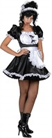 Chambermaid (satin) dress/apron