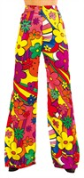 Trouser of the 70`ies Flower Power(woman)