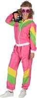 Jogging suit pink/yellow/green
