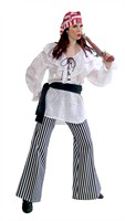 piratenblouse Wit (Blouse/Sjerp)