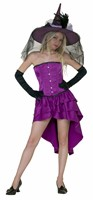 Corset dress purple  (Top quality)