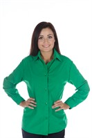 blouse green Lady
