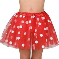 Petticoat red with dots