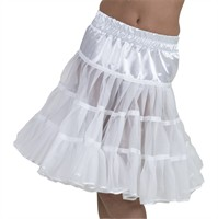 Petticoat Rock 'n Roll white