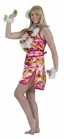 Hawaiian dress Hula (dress, scarf)