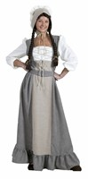 Middle ages Waltraut (dress/cap/belt)