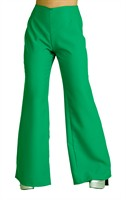 Trouser of the 70´ies green (woman)