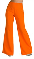 Trouser of the 70´ies orange (woman)
