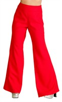 Trousers of the seventies red