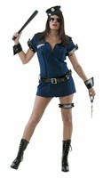 Sexy police Jenny (2-pcs)dress,belt (waisted)