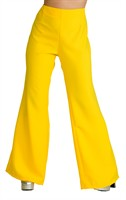 Trousers 70s yellow ladies