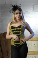 Corset yellow/black