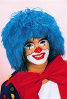 Wig blue clown