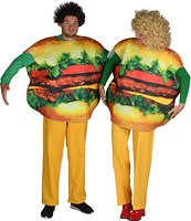 Burger men one size (Printed on both sides)