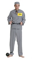 Prisoner (pants / blouse / cap)