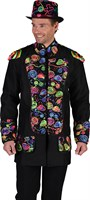 Jacket black multicolor