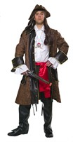 Pirate coat brown