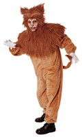 Lion (dungarees/ head with mane) (men's size)
