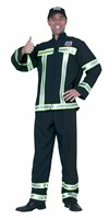 Fire fighter Black  (top,trousers)