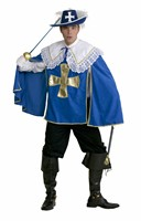 Musketeer Edward blue (trousers/top with collar)