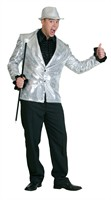 Silver luxury sequinned jacket