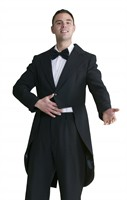 Tailcoat luxurious black