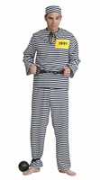 Prisoner  (trouser/blouse/cap)