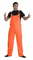 Neon orange worker trousers