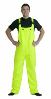 Neon yellow worker trousers