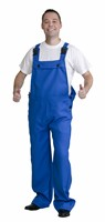 Blue worker trousers
