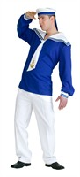 Sailor top cobalt blue