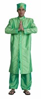 Bollywood green (coat,trouser)