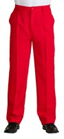 trousers luxury red