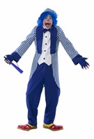 Clown Chicco Blau/Weiss (Oberteil,Hose)