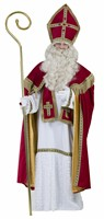 St.Nicholas luxe (dress/cape/scarf/hat)
