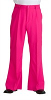 Trouser of the seventies pink (men)