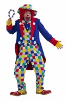 Clown Harry 4-tlg (Bluse,Weste,Jacke,Hose)