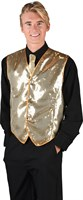 Gold sequinned waistcoat luxury