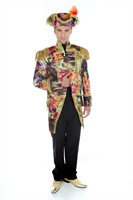Jacket flower classic gold