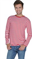 Red/white striped jumper luxery