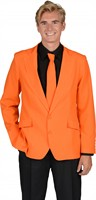 Jacke orange Slim Fit