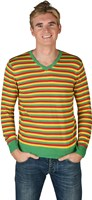 Striped sweater  red/yellow/green