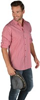 Tyrolean shirt red/white